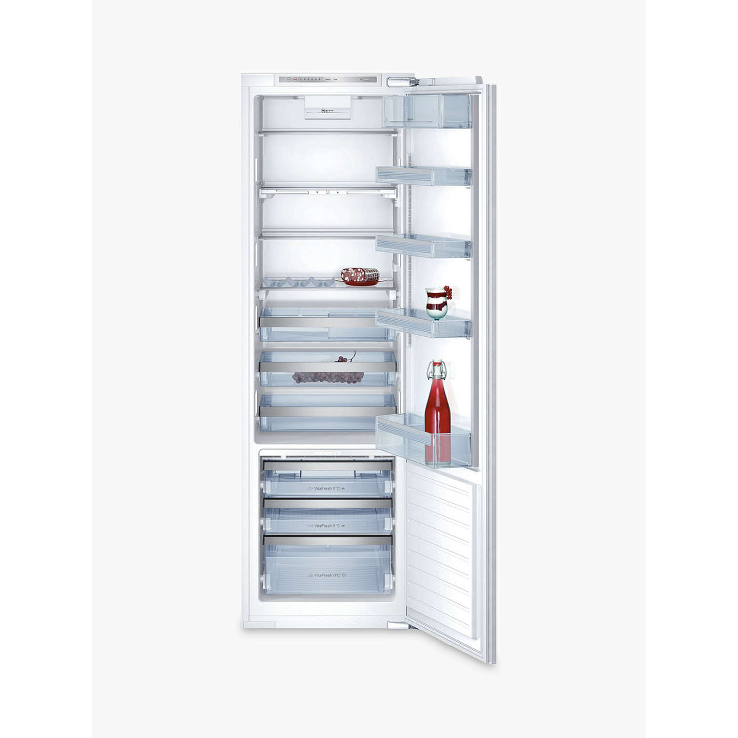 neff k8315x0gb integrated fridge a energy rating 56cm wide at rh johnlewis com Zero Dark Th Zero Dark Thir