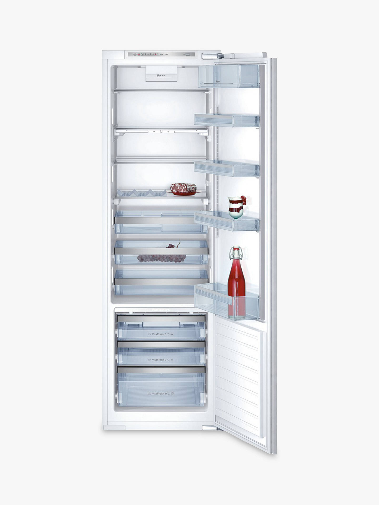 BuyNeff K8315X0GB Integrated Fridge, A++ Energy Rating, 56cm Wide Online at johnlewis.com