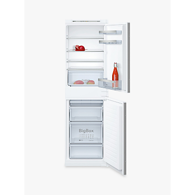 Image of Neff KI5852S30G 50:50 White Integrated Fridge freezer