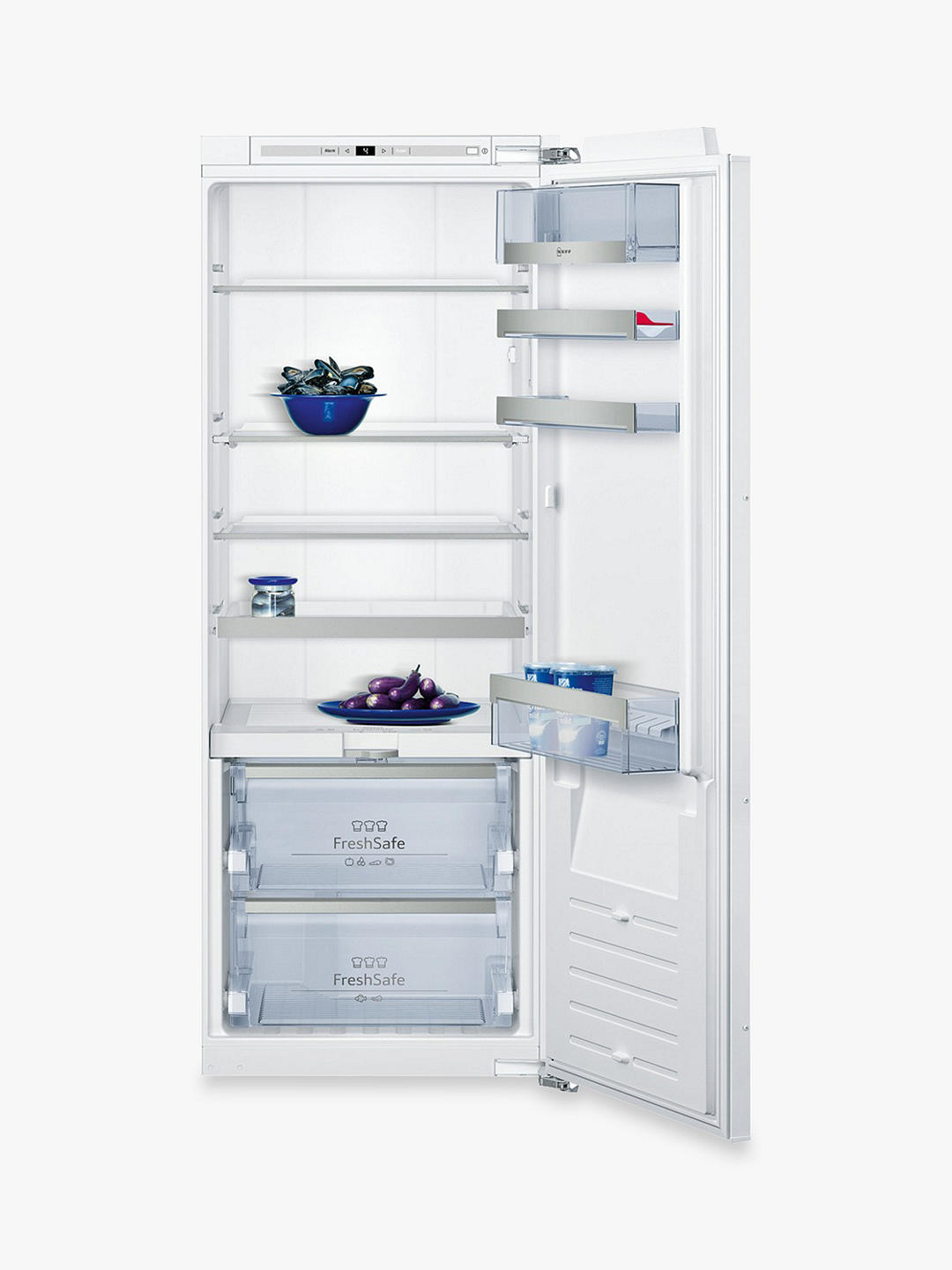 Buy Neff KI8513D30G Integrated Fridge, A++ Energy Rating, 56cm Wide Online at johnlewis.com