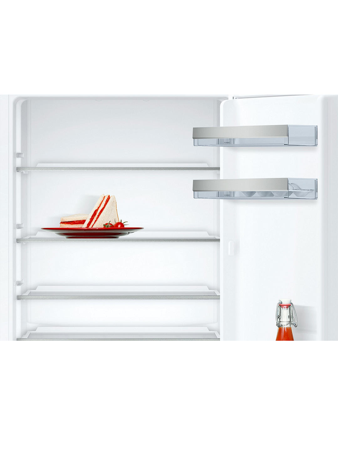 Buy Neff KI5852F30G Integrated Fridge Freezer, A++ Energy Rating, 56cm Wide Online at johnlewis.com