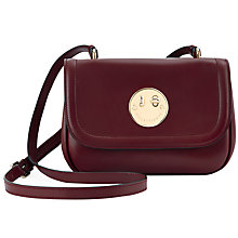 Buy Hill and Friends Happy Mini Shoulder Bag, Oxblood Online at johnlewis.com