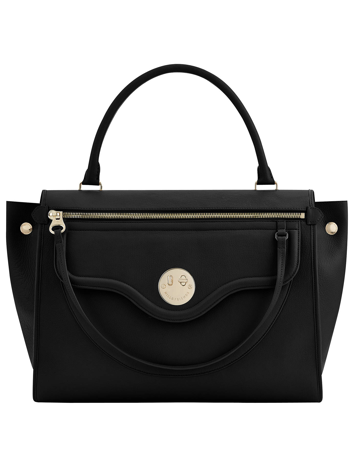 Hill and Friends Happy Zippy Leather Shoulder Bag at John Lewis ... f01dfa2002f85