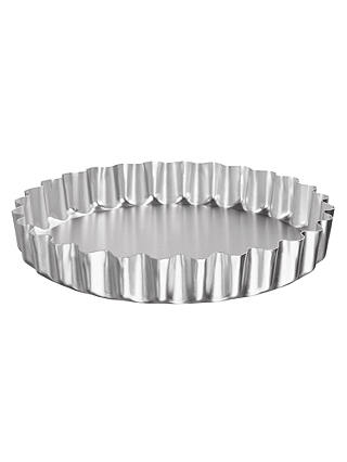 Buy John Lewis Deep Fluted Flan Dish, 23cm Online at johnlewis.com
