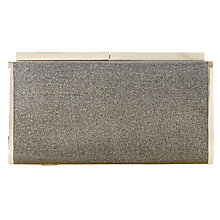 Buy Dune Brixxton Box Clutch Bag, Bronze Online at johnlewis.com