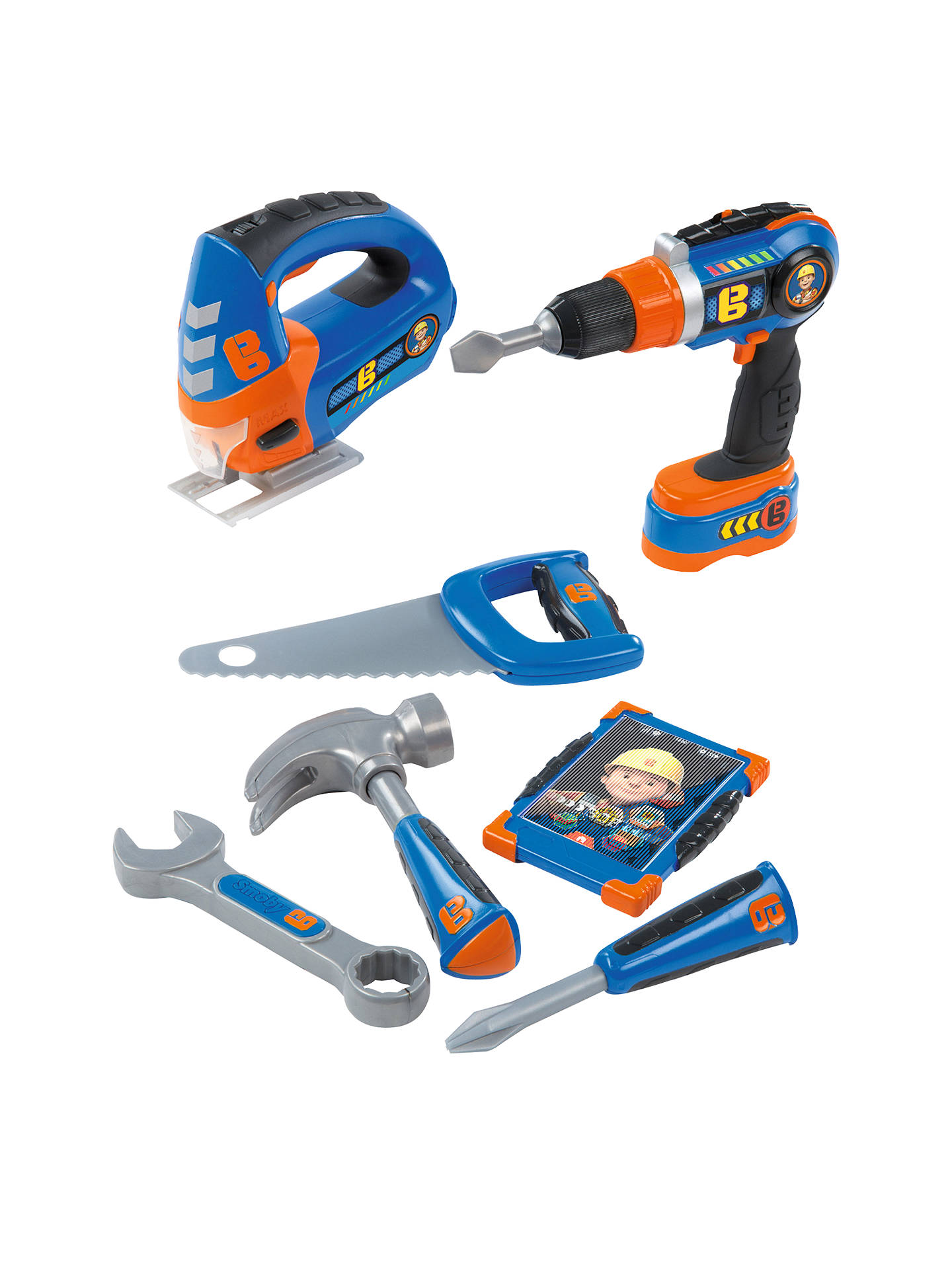 4143d1408366 Buy Bob The Builder Smoby Power Tool Play Set Online at johnlewis.com ...