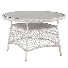 Buy John Lewis Hera 4-Seater Round Table, White Online at johnlewis.com