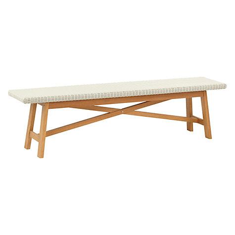 Buy John Lewis Stockholm 6 Seater Dining Table Bench Set FSC Certified