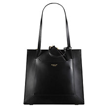 Buy Radley Hardwick Leather Large Tote Bag, Black Online at johnlewis.com