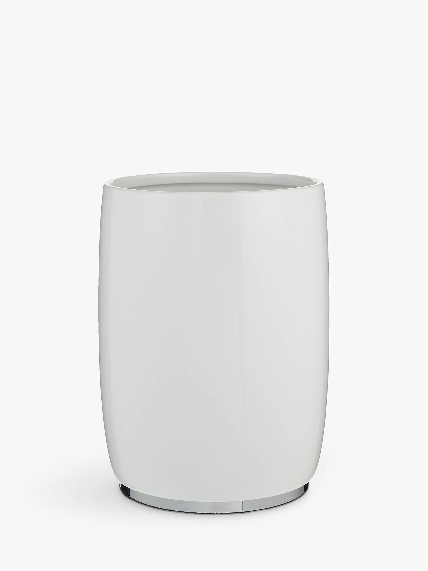 BuyJohn Lewis & Partners London Ceramic Bathroom Bin Online at johnlewis.com