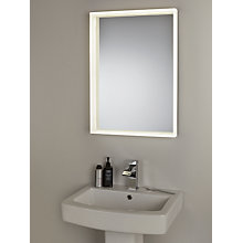 Buy John Lewis LED Prism Illuminated Bathroom Mirror Online at johnlewis.com