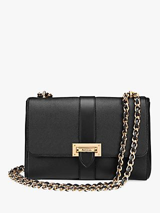Aspinal of London Lottie Leather Large Cross Body Bag