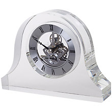 Buy Dartington Crystal Mantle Clock Online at johnlewis.com