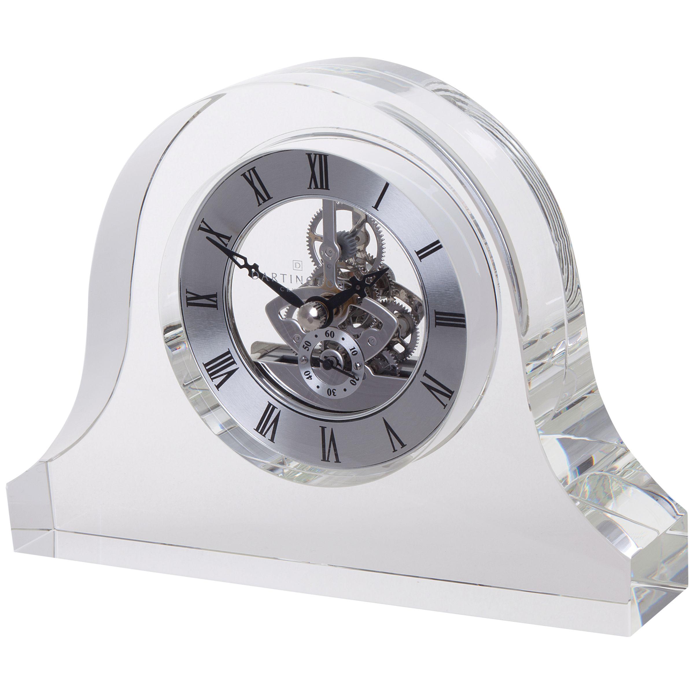 Dartington Crystal Mantle Clock
