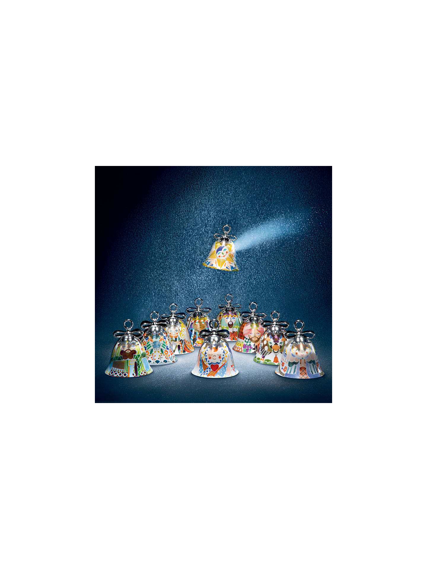 BuyAlessi 'Holy Family' Caspar Christmas Bell Decoration Online at johnlewis.com