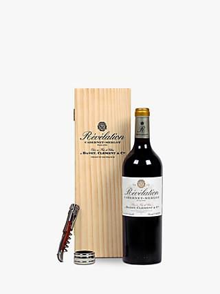 Revelation Cabernet Merlot Gift Set, Single, 75cl