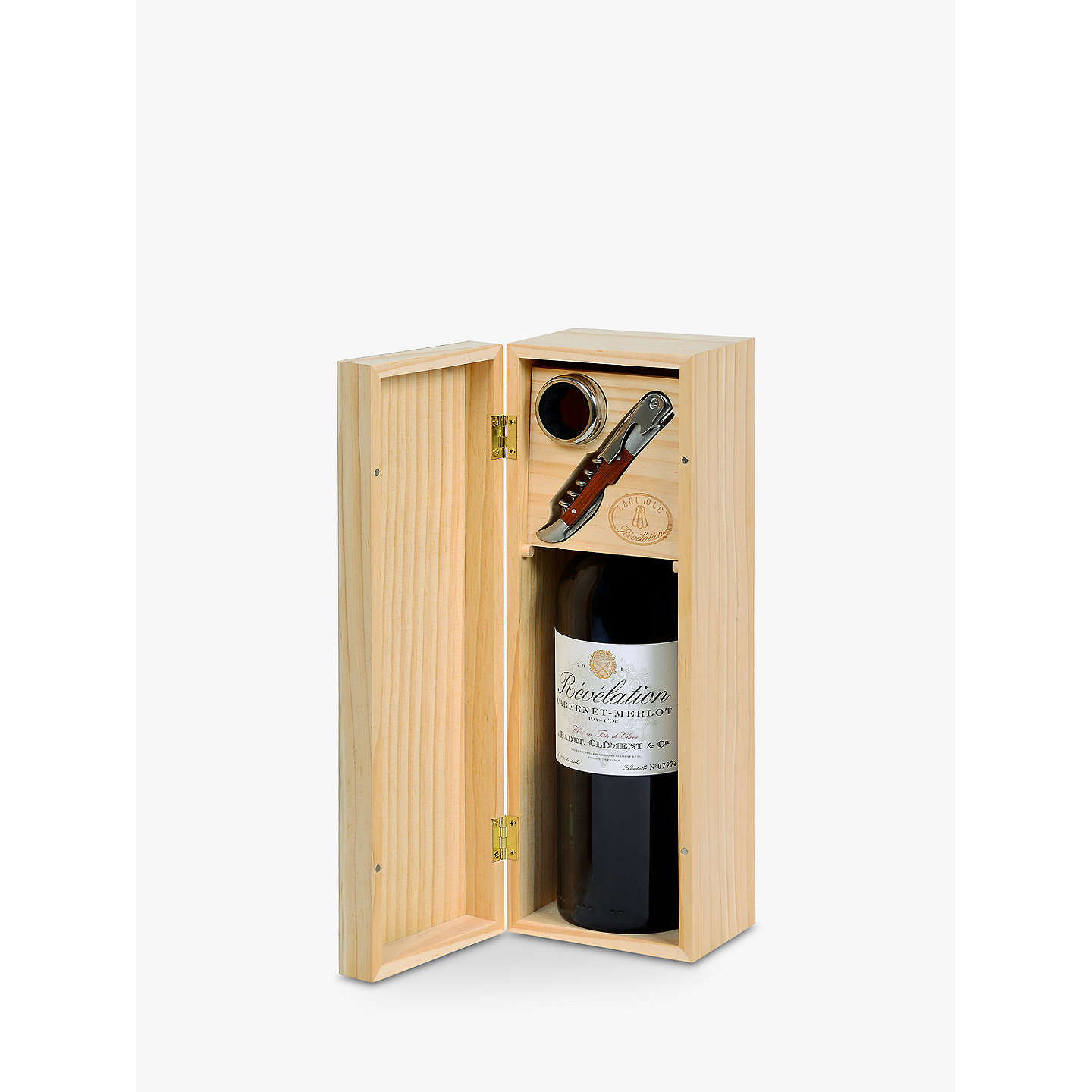 BuyRevelation Cabernet Merlot Gift Set, Single, 75cl Online at johnlewis.com