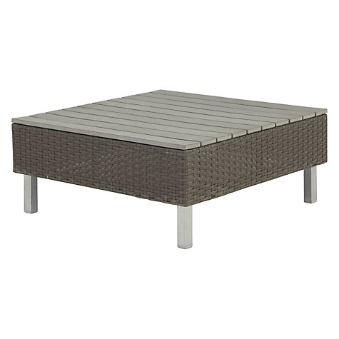 Buy John Lewis Madrid Low / Coffee Table, Brown/Natural Online At Johnlewis.