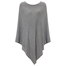 Buy John Lewis Knitted Cotton Poncho Online at johnlewis.com