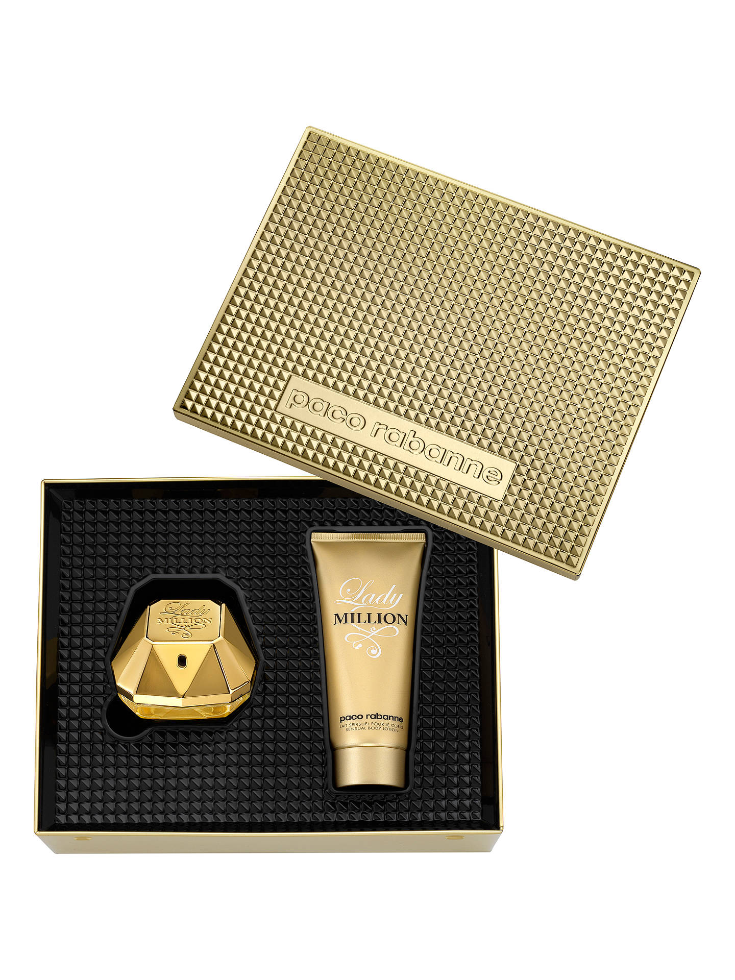 BuyPaco Rabanne Lady Million 50ml Eau de Parfum Fragrance Gift Set Online at johnlewis.com