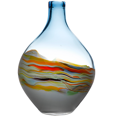 Voyage Elemental Rhian Vessel Vase, Agate