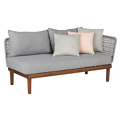 Design Project by John Lewis No.096 Lounging One Arm Sofa, FSC-Certified (Acacia)