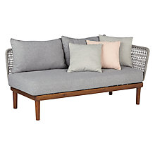 Buy Design Project by John Lewis No.096 Lounging One Arm Sofa, FSC-Certified (Acacia) Online at johnlewis.com