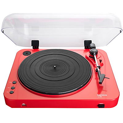 Lenco L-85 USB Two Speed Turntable With Direct MP3 Recording