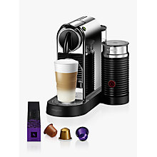 Buy Nespresso CitiZ & Milk Coffee Machine by Magimix, Chrome Online at johnlewis.com
