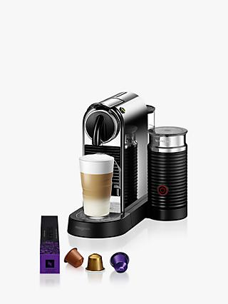 Nespresso CitiZ & Milk Coffee Machine by Magimix, Chrome Effect