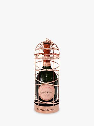 Laurent-Perrier Rosé Champagne Ribbon Cage Special Edition, 75cl
