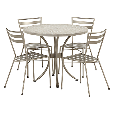 John Lewis Petra 4 Seater Table & Chairs Set