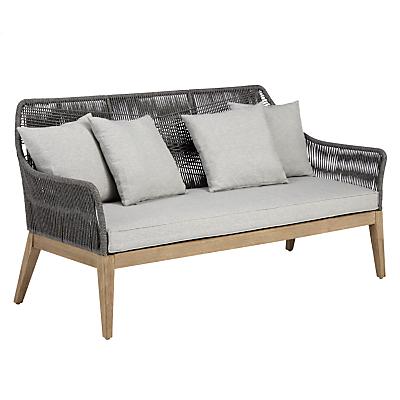 John Lewis Leia 3 Seater Sofa, FSC-Certified (Eucalyptus Grandis), Grey