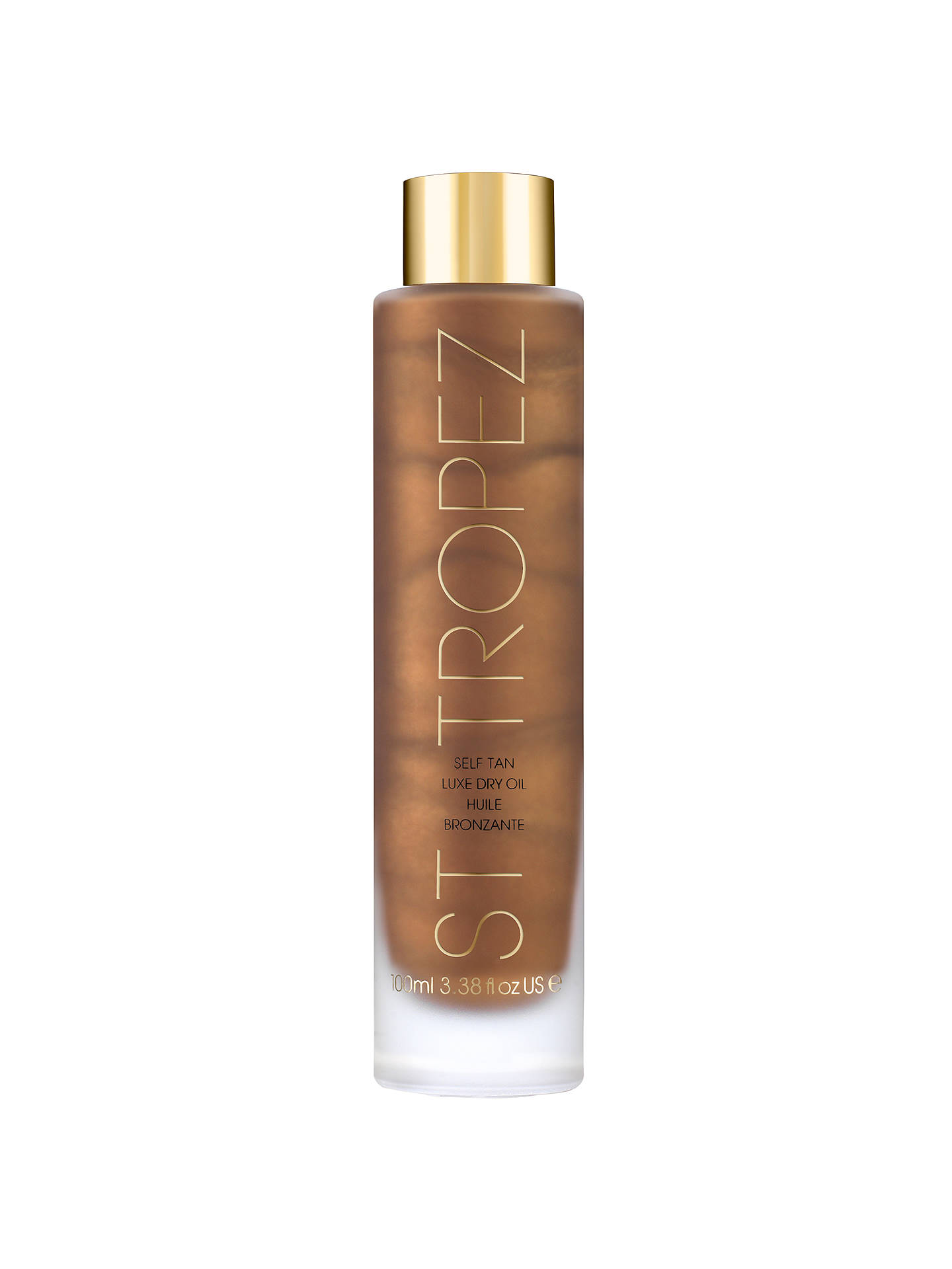 BuySt Tropez Self Tan Luxe Dry Oil, 100ml Online at johnlewis.com