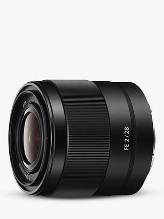 Buy Sony SEL28F20 E 28mm F/2-22 Wide Angle Camera Lens Online at johnlewis.com