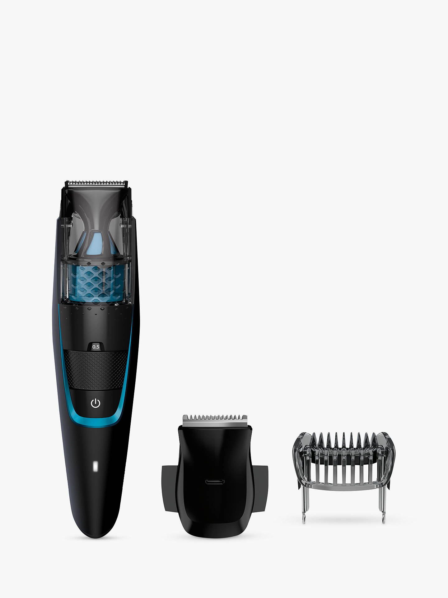BuyPhilips BT7202/13 Series 7000 Beard and Stubble Trimmer with Integrated Vacuum System Online at johnlewis.com