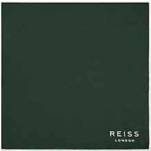Buy Reiss Moon Silk Pocket Square Online at johnlewis.com