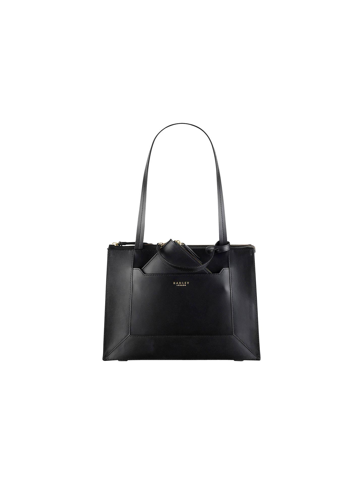 928041df14 Radley Hardwick Leather Medium Tote Bag at John Lewis   Partners