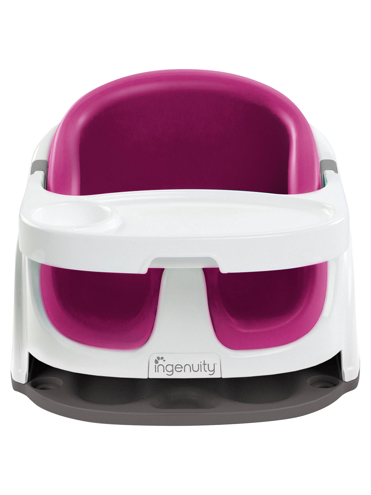BuyIngenuity Baby Base 2 In 1 Booster Seat Pink Online At Johnlewis