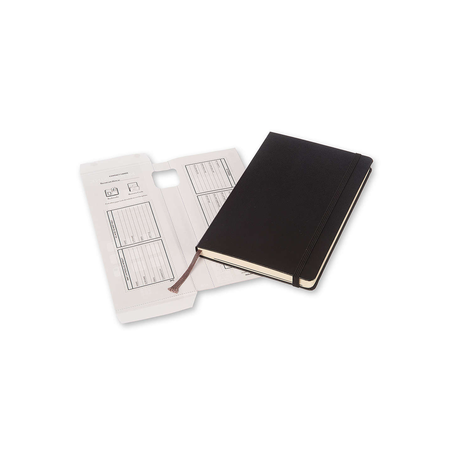 BuyMoleskine Large Hard Cover Professional Notebook, Black Online at johnlewis.com