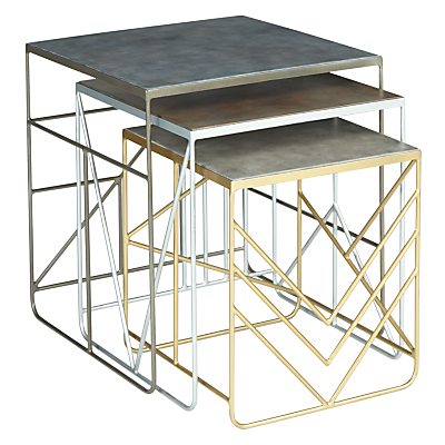 John Lewis Nest of 3 Outdoor Tables