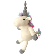 Buy The Crafty Kit Company Knit Your Own Unicorn Knitting Kit Online at johnlewis.com