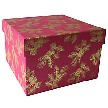 Buy Sara Miller Leaves Gift Box, Medium Online at johnlewis.com