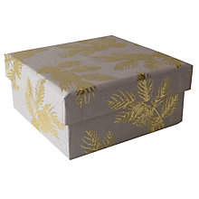 Buy Sara Miller Leaves Gift Box, Mini Online at johnlewis.com
