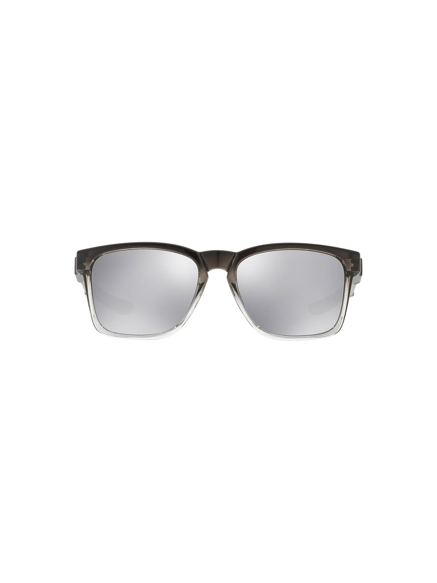 BuyOakley OO9272 Catalyst Rectangular Sunglasses, Silver Online at johnlewis.com
