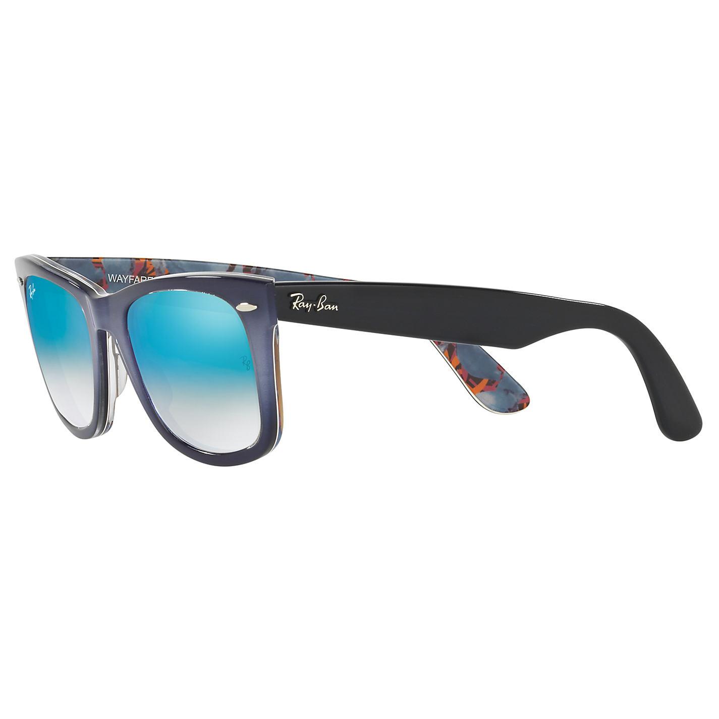 ray ban wayfarer turquoise  buy ray ban rb2140 original wayfarer sunglasses online at johnlewis
