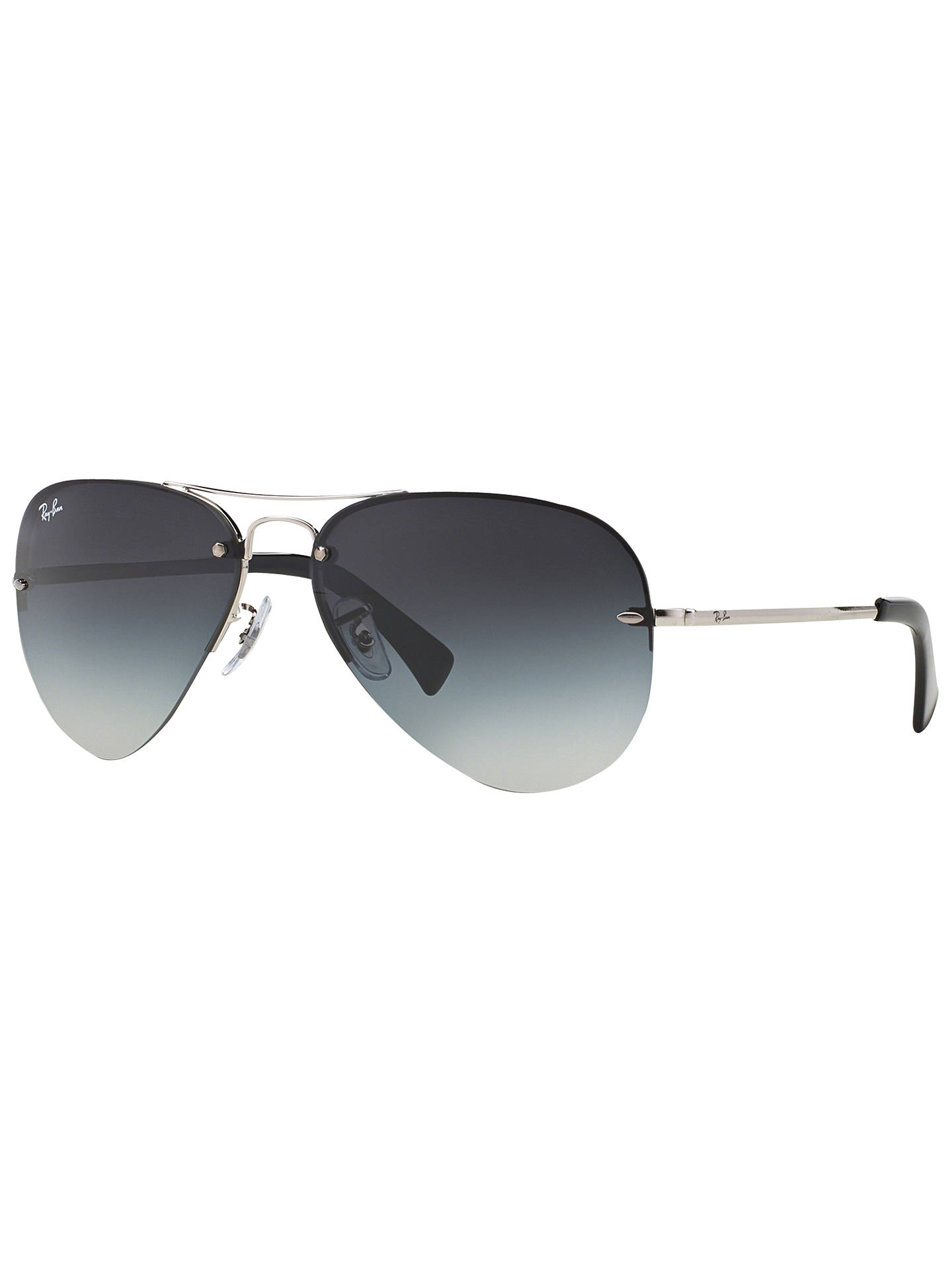 48ca62b495 Ray-Ban RB3449 Aviator Sunglasses at John Lewis   Partners