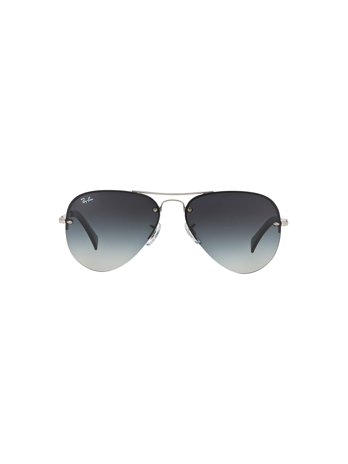 06b287b30d Ray-Ban RB3449 Aviator Sunglasses at John Lewis   Partners