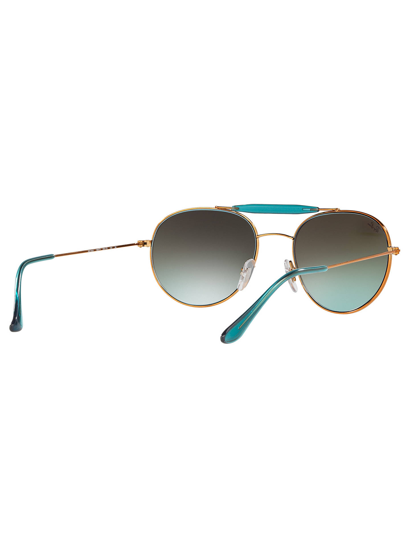 Buy Ray-Ban RB3540 Oval Sunglasses, Bronze/Pink Online at johnlewis.com