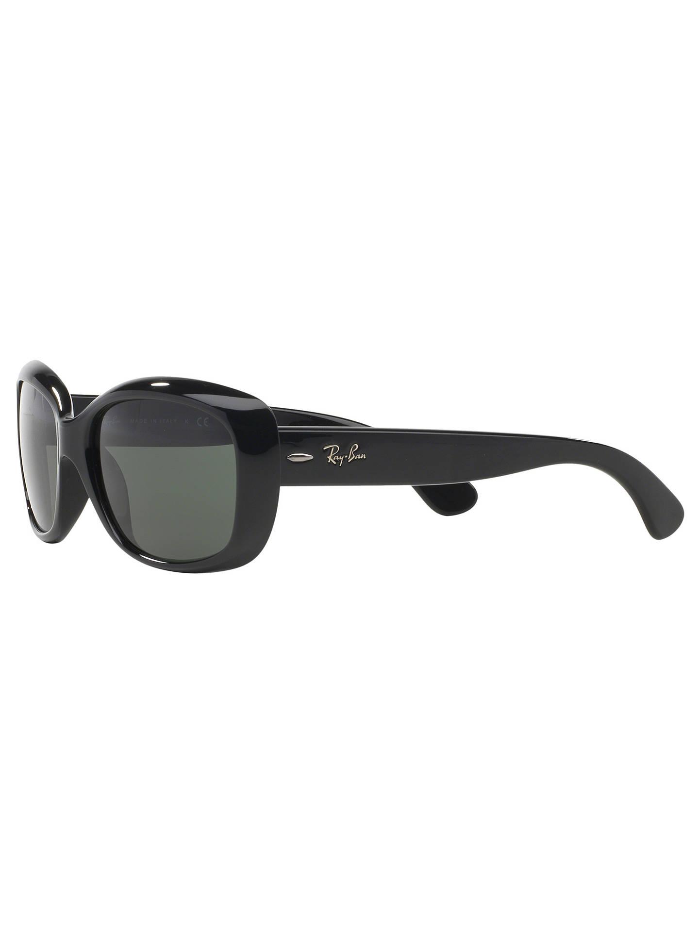 bdd19027e6 Ray-Ban RB4101 Women s Jackie Ohh Rectangular Sunglasses at John ...